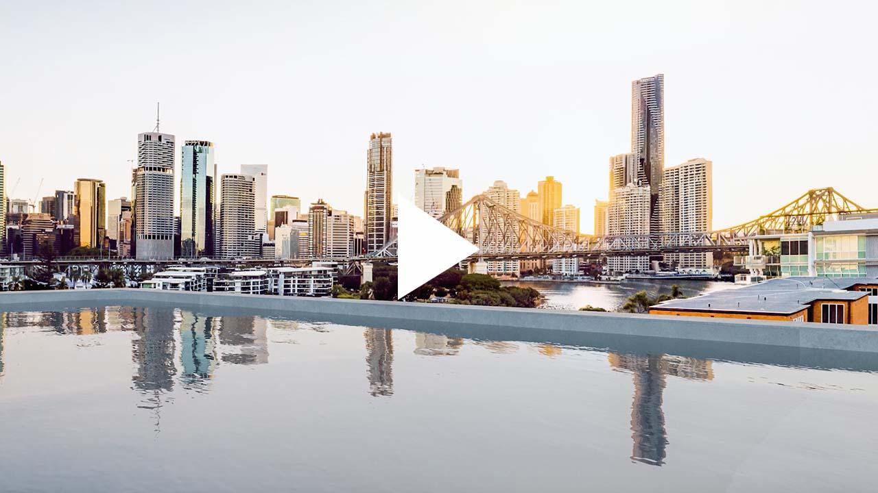 Iconic multi-residential development in Brisbane's New Farm