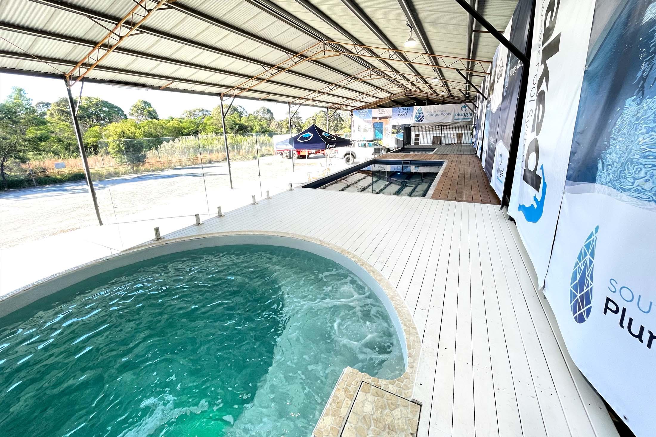 South Coast Plunge Pools Plungie display