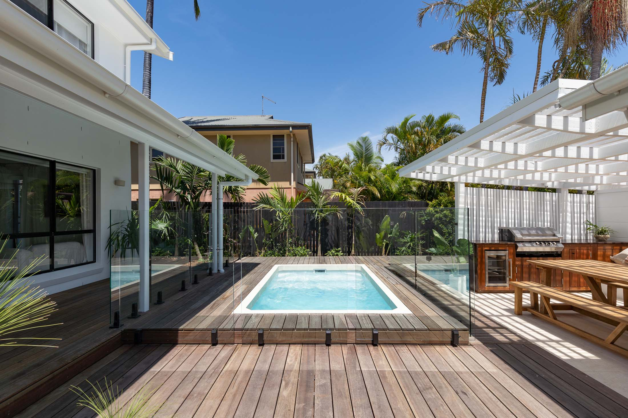 Byron Bay 3.6m x 2.2m Plungie Studio Concrete Plunge Pool in Kona Coast