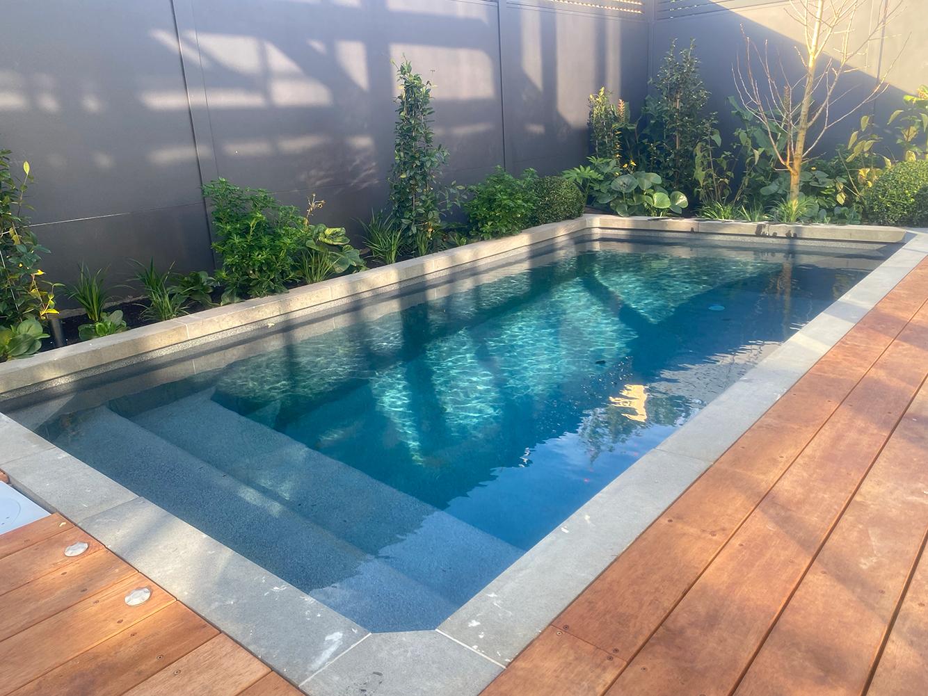 Tanya and Vito's stunning backyard reveal on The Block